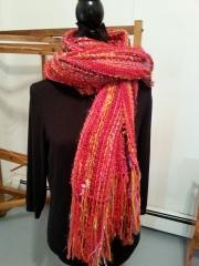 Dec 09 shawl as scarf