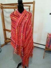 Dec 09 shawl as wrap